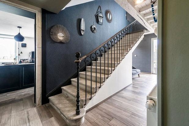 Classique Escalier by Atelier SOFI(A) - Sophie Lallias Architecte DPLG