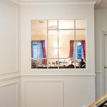Rénovation d'un appartement de plus de 300 m2 à Paris