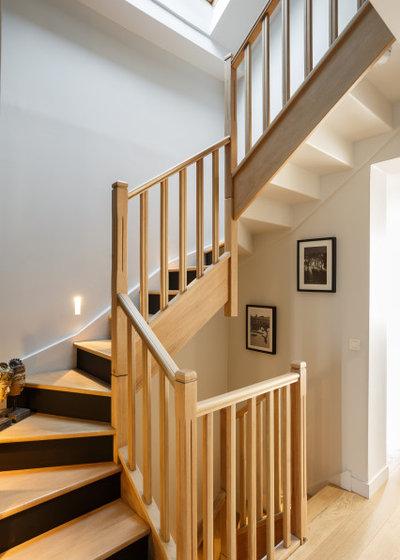 Contemporain Escalier by Emilie Melin architecte DPLG