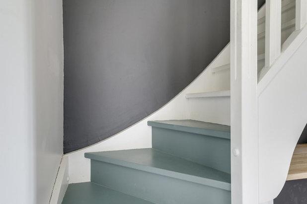 Méditerranéen Escalier by Atelier VBA - Architecte