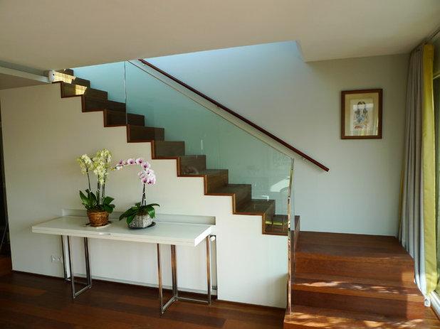Contemporain Escalier by Eric Gizard interior design