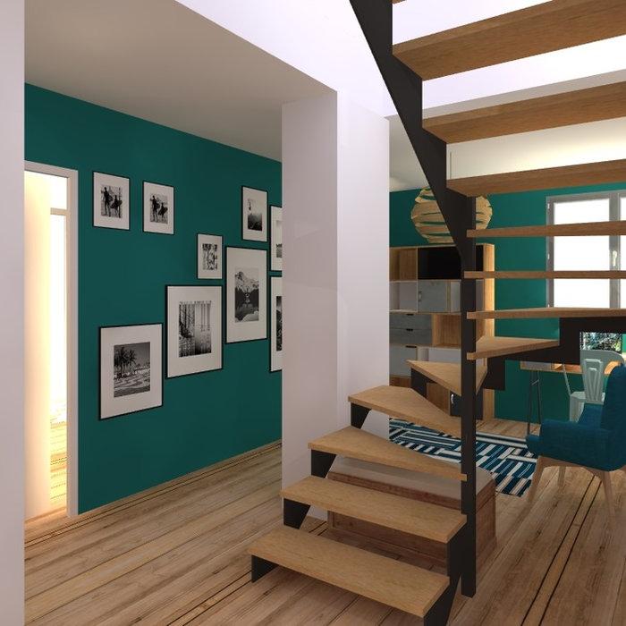Surélévation en ossature bois d'un petit immeuble