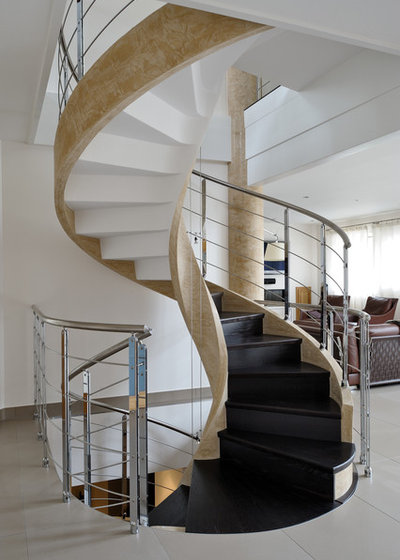 Contemporain Escalier by DELAIRON