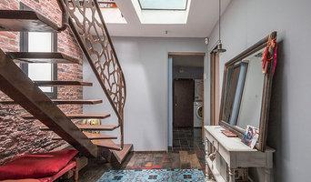 Transformation d'un bâtiment industriel en loft et maison familiale