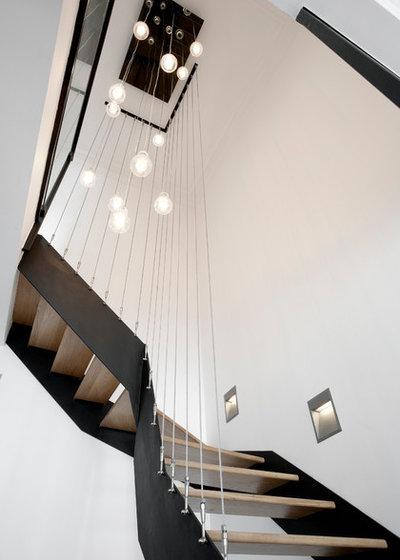 Contemporain Escalier by ATELIER FB