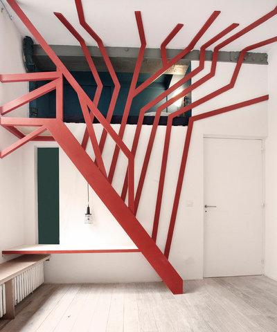 Contemporain Escalier by 37.2 architecture