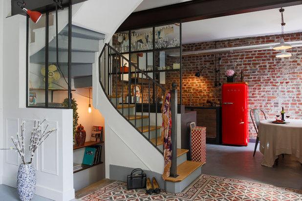 Industriel Escalier by LES ATELIERS DU 4