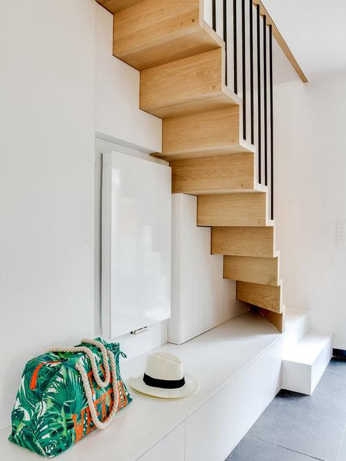 Escalier Avec Rangement : Photos Et Idées Déco