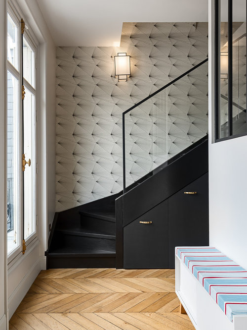 11 best staircase ideas photos houzz. Black Bedroom Furniture Sets. Home Design Ideas