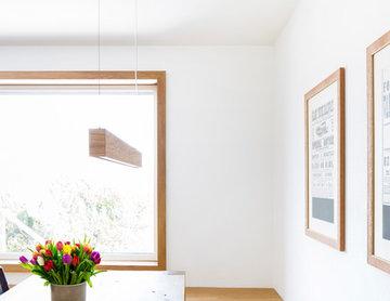 ac009 - White & Wood_ Küche und Wohnraumgestaltung