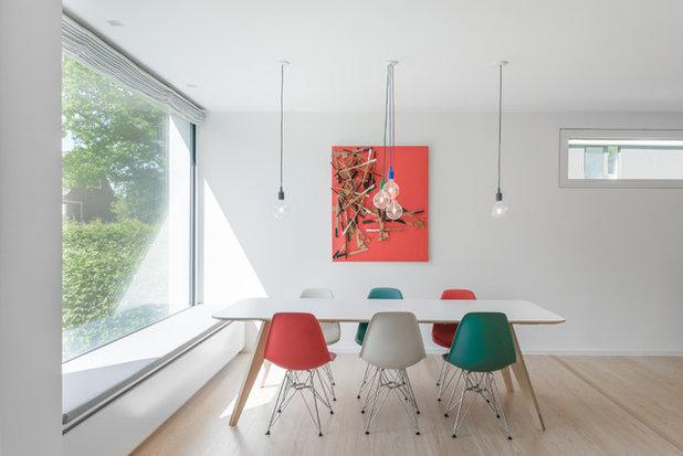Eine Farbkombi U2013 6 Styles: Esszimmer In Rot, Grün Und Weiß