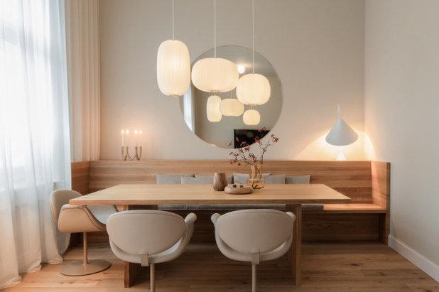 Skandinavisch Esszimmer by Constanze Ladner -- Interior Design