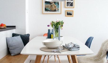 Idee bei wenig Platz: Kochinsel mit der Sitzecke verschmelzen