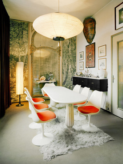 Eclectic Dining Room Casa M