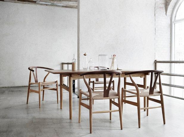 Contemporary Dining Room by Carl Hansen & Søn