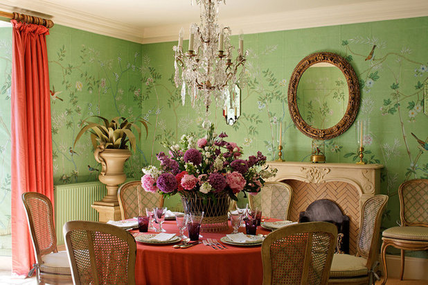 Eclectic Dining Room by LARS LEPPIN GmbH