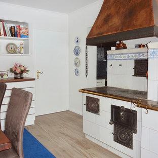 Sala da pranzo con pavimento in gres porcellanato Germania - Foto ...