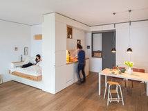 10 Einrichtungstipps Zum Raumsparen; Mit Diesen 13 Einrichtungstipps Kommt  Jede Einzimmerwohnung Groß Raus ...