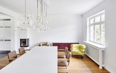 7 Designer-Tricks, wie weiße Wände nicht kalt wirken