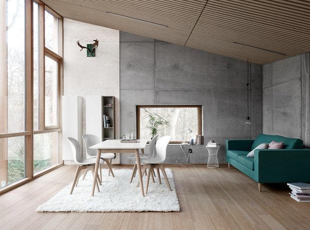 Scandinavian Dining Room by BoConcept Frankfurt