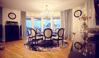 Esszimmer im klassischen Apartment
