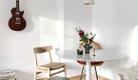 Essbereich neu gestaltet mit frischen und aufgewärmten Zutaten