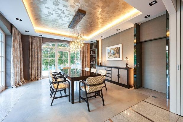 Modern Esszimmer By Stefanie Raum Contemporary Interior