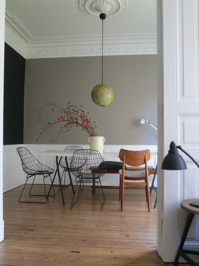 Contemporary Dining Room by Richard