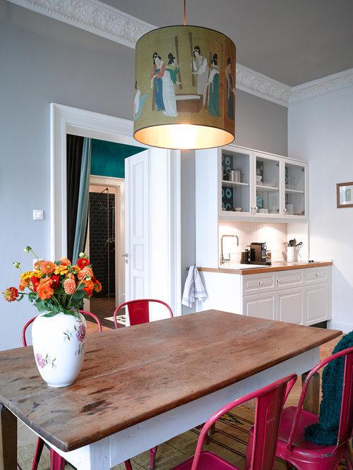 eklektische wohnk chen design ideen bilder beispiele. Black Bedroom Furniture Sets. Home Design Ideas