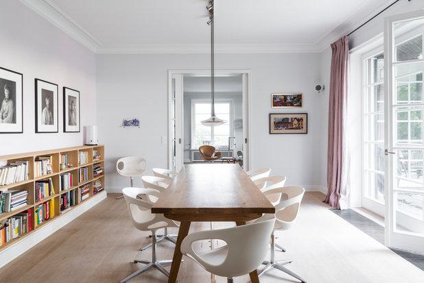 Modern Esszimmer by Lange Geller Kuehl Interiors