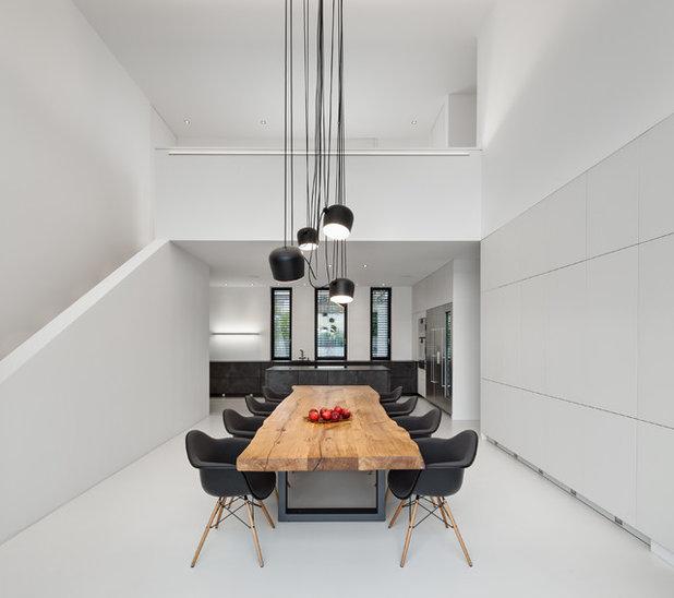 Minimalistisch Esszimmer by be_planen Architektur GmbH