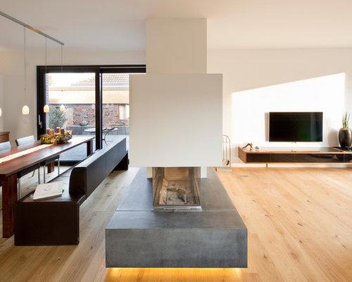 kamin wohnideen einrichtungsideen houzz esszimmer - Esszimmer Einrichtungsideen Modern