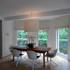 Modern Dining Room by Christine White Design