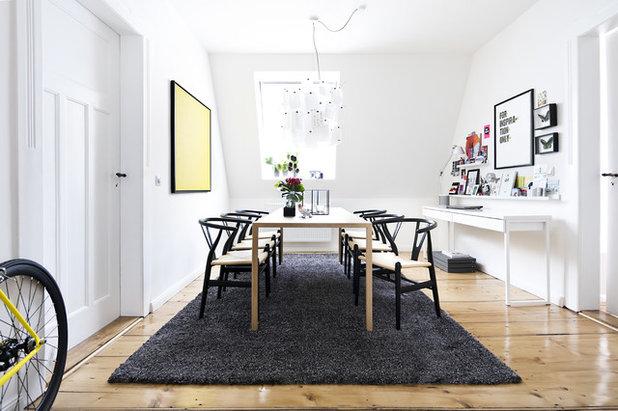 Skandinavisch Esszimmer by Designstudio Pascal Walter