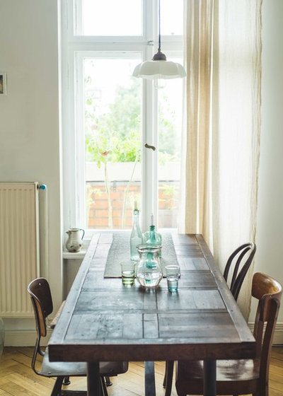 Eclectic Dining Room by Claudia Georgi Photography
