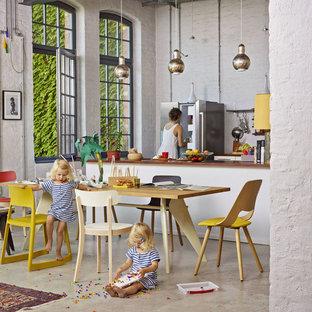 Salle à manger industrielle Stuttgart : Photos et idées déco de ...