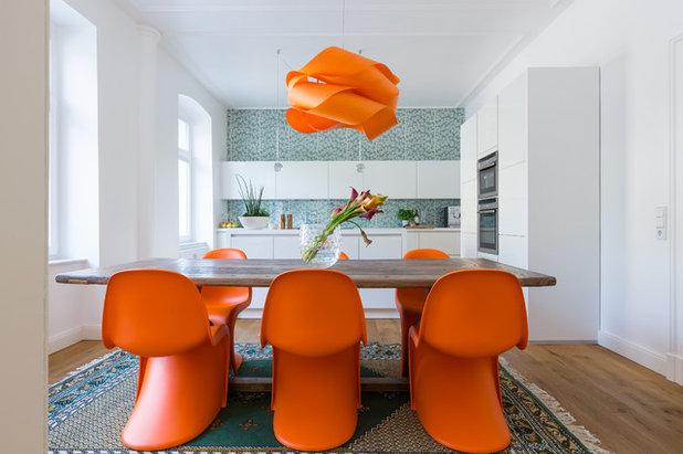 Contemporary Dining Room by Nicoladenseiten