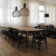 contemporary dining room by Laux Interiors Berlin