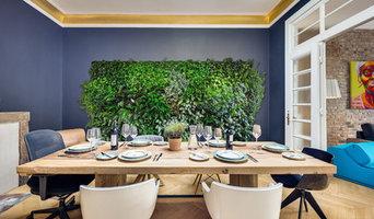Lounge Diningroom Jugendstil Modern