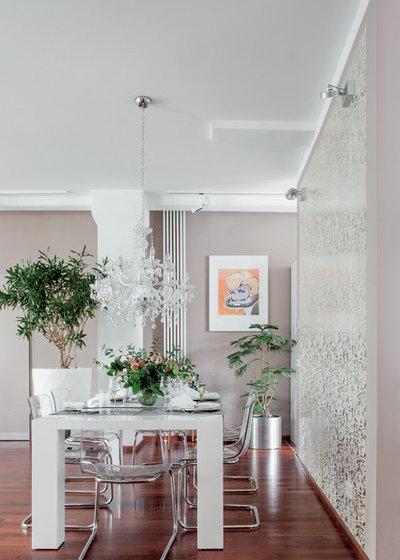 Contemporary Dining Room by Luca Girardini - Photos