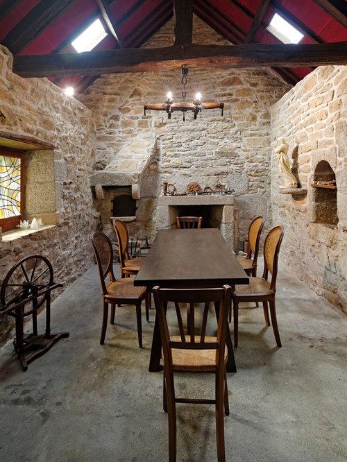 Salle manger classique photos et id es d co de salles for Salle a manger en pierre