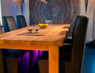 Mediterrane Wohnzimmer Ideen & Inspiration plus TV Wand