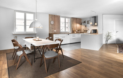 Houzz Tour: Walls Come Down So an Apartment Can See the Light