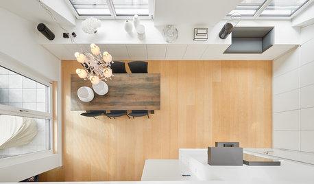 Maßeinbauten schaffen viiiiel Stauraum in diesem Dachgeschoss