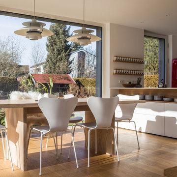 Modernes Holzhaus in Baierbrunn