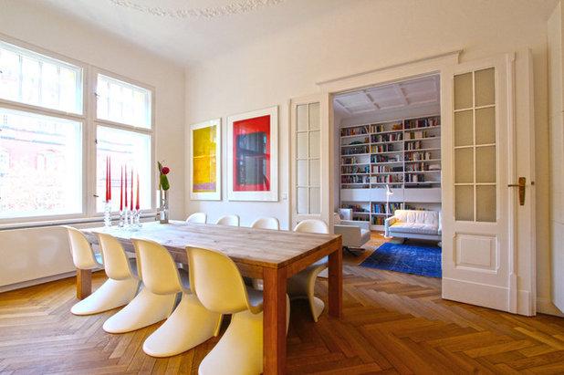 Scandinavian Dining Room by WAF Architekten