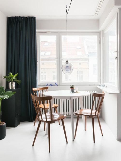 kleines esszimmer, kleine esszimmer mit linoleum ideen, design & bilder | houzz, Design ideen