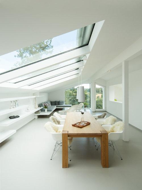 Industriedesign und Kombination von unterschiedlichen Optiken in einem Raum