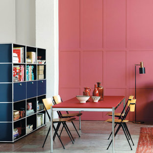 Photo of an eclectic dining room in Other.