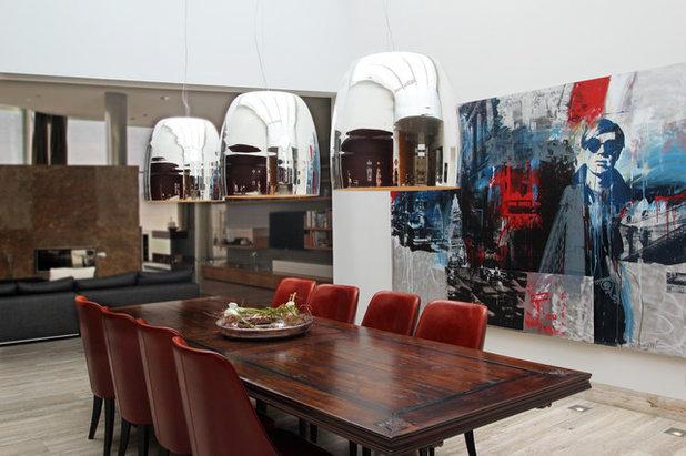 Arte alla parete un solo quadro per rivoluzionare un - Quadri per sala da pranzo ...